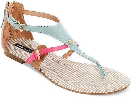Tommy Hilfiger Shoes, Baran Flat Thong Sandals
