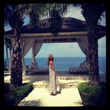 Jennifer and Jake got their honeymoon started in Bali. Source: Instagram user jenhawkins_