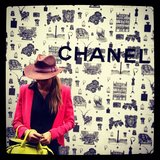One of the couple's first stops in Paris? Chanel, of course! Source: Instagram user jenhawkins_