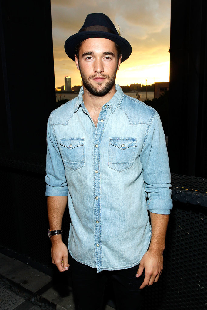 Josh Bowman wore a hat.