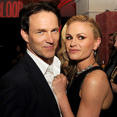Stephen Moyer and Anna Paquin at True Blood Premiere