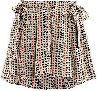 Isabel Marant Étoile Maya star-print skirt