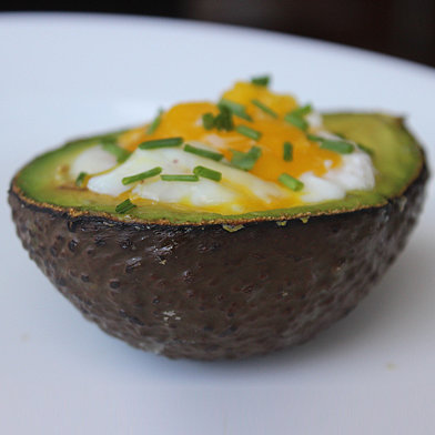 Paleo Breakfast Recipe: Eggs Baked in Avacado