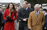 On April 5, Kate Middleton joined Prince William and Prince Charles for an official tour of Scotland.