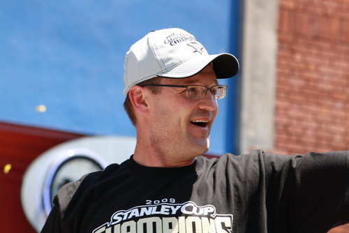 Pens Head Coach Dan Bylsma is Back!