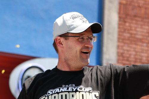 Pens Head Coach Dan Bylsma is Back!
