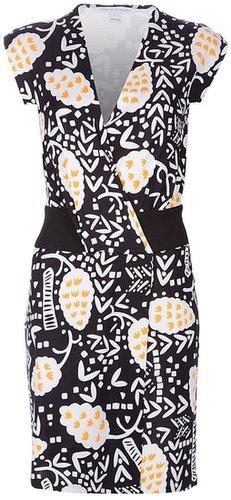 Diane Von Furstenberg printed dress