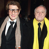 Yves Saint Laurent and Pierre Bergé