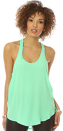 *MKL Collective The Smooth Operator Racer Tank in Pop Mint