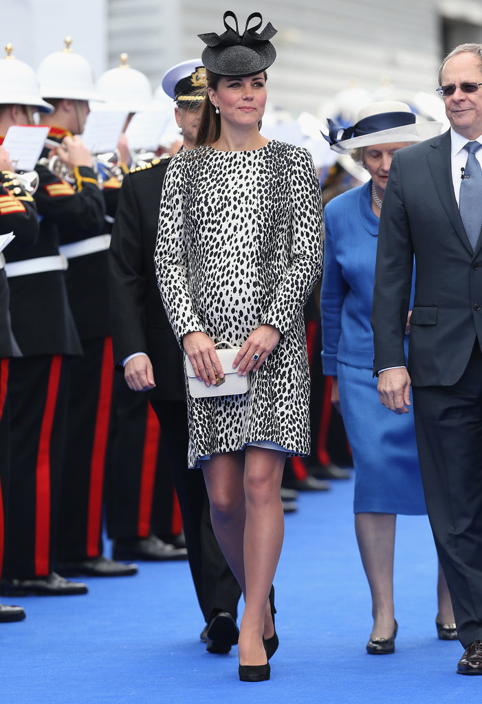 Kate Middleton made her final solo appearance in Southampton, England, on June 13 when she christened a Princess Cruises ship.