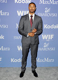 Michael B. Jordan suited up for the bash.