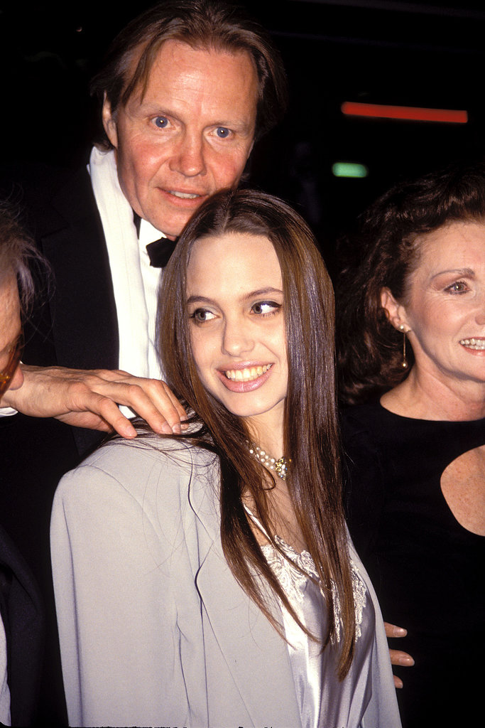 Jon Voight and Angelina Jolie
