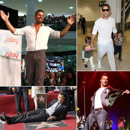Come With Us on a Ricky Martin Rewind Through the Years