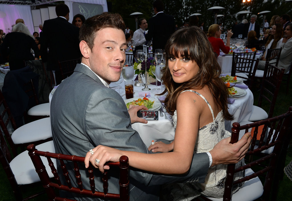 Cory Monteith and Lea Michele were looking close as ever after his recent stint in rehab, at the 12th Annual Chrysalis Butterfly Ball in Los Angeles on June 8.