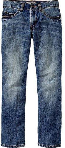 Boys Distressed Skinny Jeans
