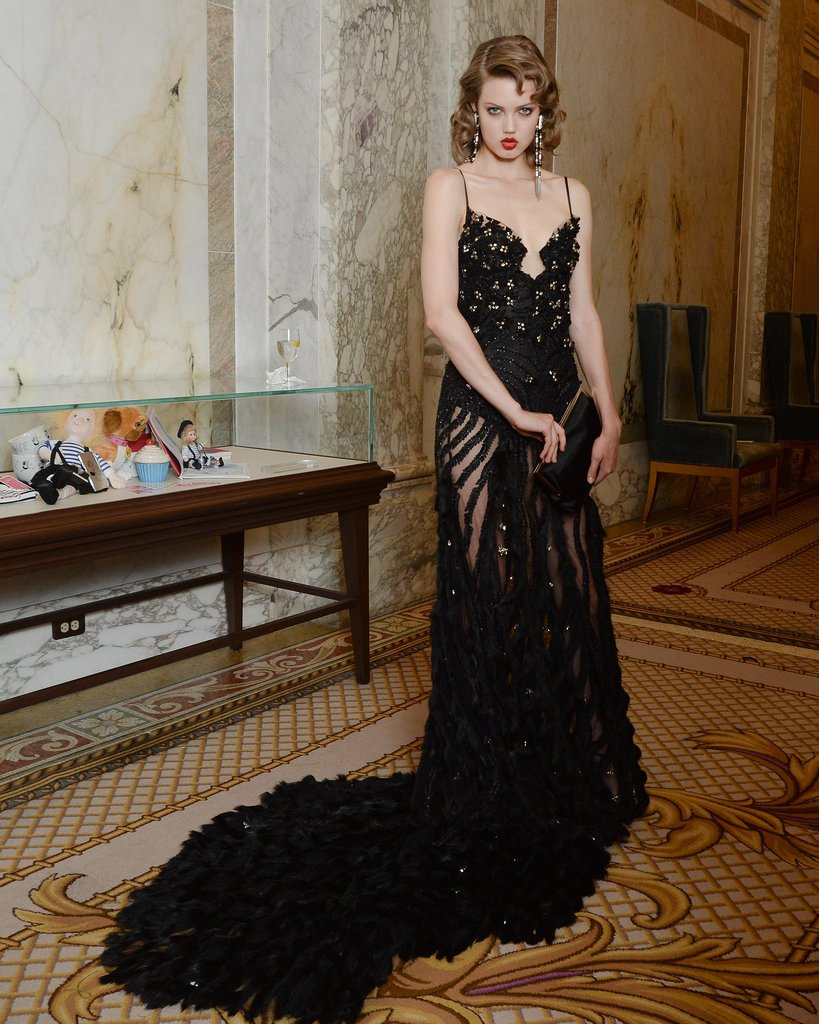 Lindsey Wixson at the 2013 amfAR Inspiration Gala. Source: Matteo Prandoni/BFAnyc.com