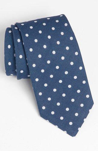 Ted Baker London Woven Linen Tie