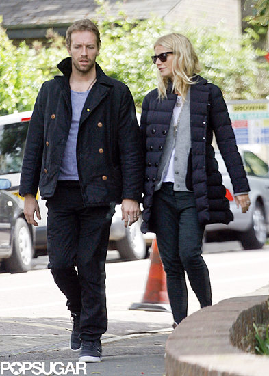 Gywneth Paltrow and Chris Martin took a stroll in London together.