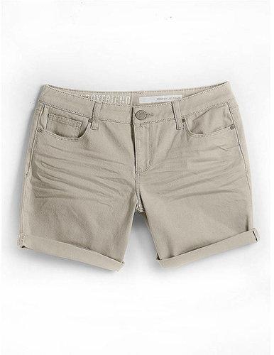 DKNY JEANS City Boyfriend Cuffed Denim Shorts