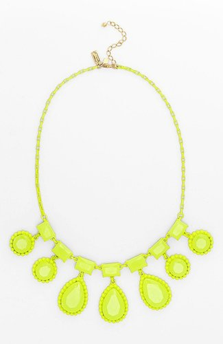 Kate Spade New York 'painted Jewels' Bib Statement Necklace