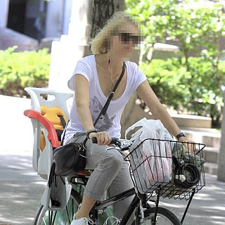 Actress on a Bike