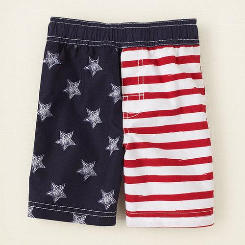 Americana swim trunks
