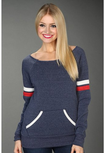 Alternative Apparel - Sporty Maniac Sweatshirt (Eco True Navy) - Apparel