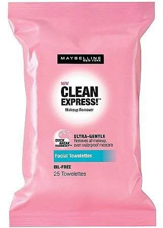 Maybelline Clean Express! Makeup Remover Facial Towelettes