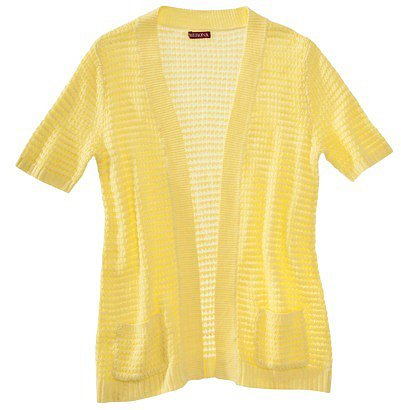 Merona® Women's Open Stitch Cardigan Sweater - Assorted Colors