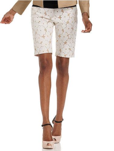 ECI Shorts, Lace Bermuda