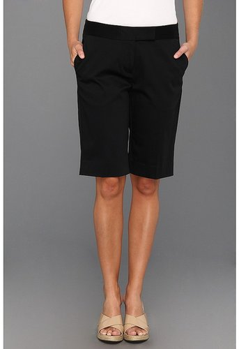 Jones New York - Tailored Bermuda Short (Black) - Apparel