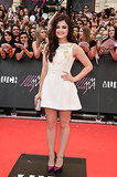 Lucy Hale attended the Canadian award show.
