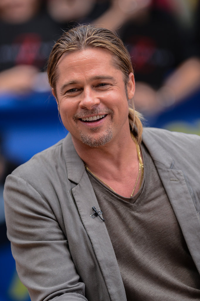 "Brad Pitt Opens Up About Angie After Surgery: ""She's Doing Great"""