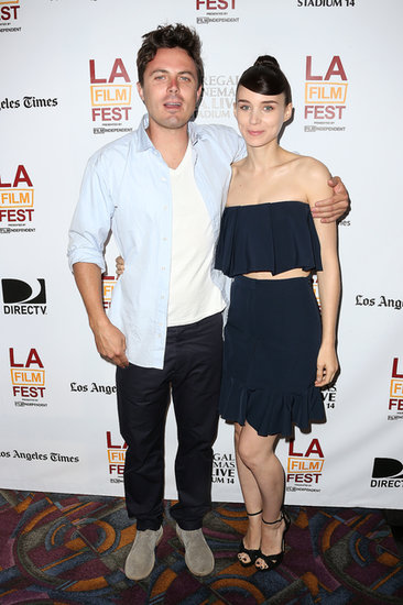 Rooney Mara screened Ain't Them Bodies Saints with Casey Affleck.