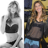 Gisele Goes Sheer to Show Off Her Sexy Lingerie Line