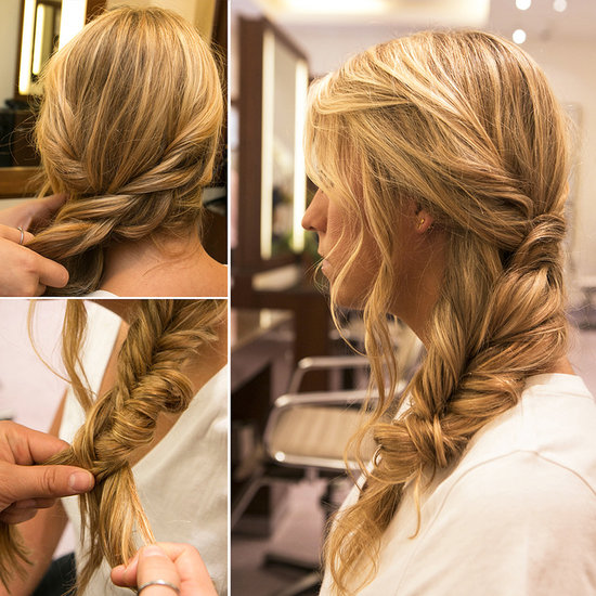 Learn This Effortlessly Chic Side Braid