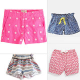 Prints Charming! Cool Patterned Shorts For Little Girls