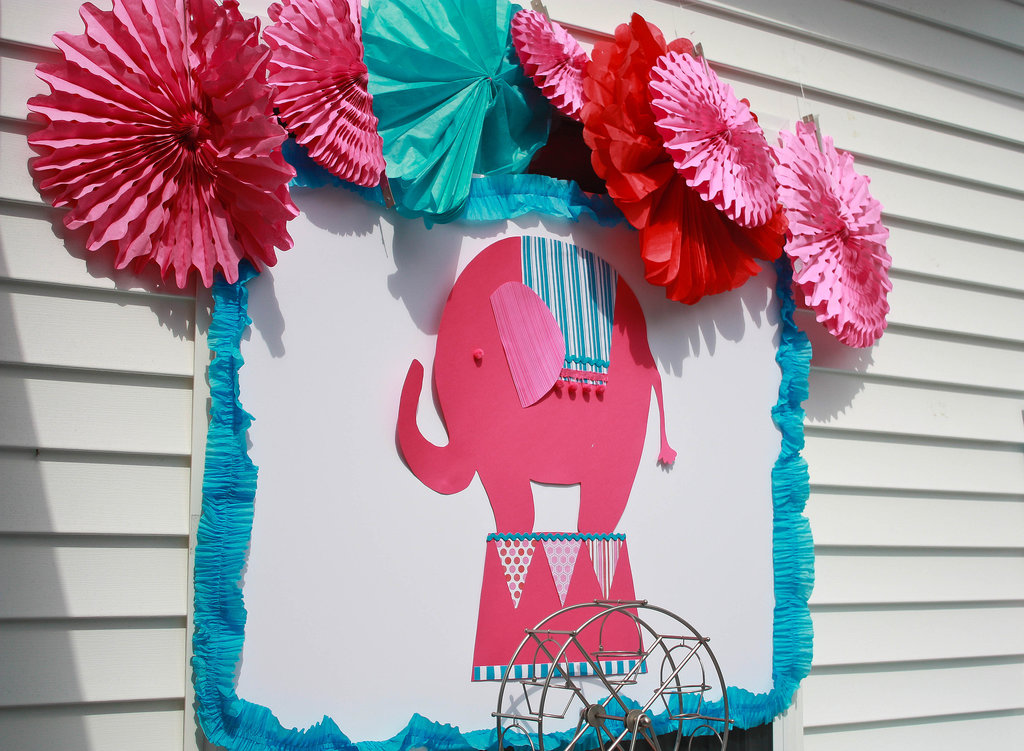 Elephant Backdrop