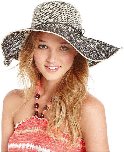 American Rag Hat, Straw Dip-Dye Floppy