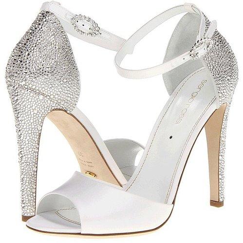 Sergio Rossi - Bridal Sandal (Bianco) - Footwear