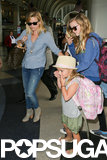 Reese Witherspoon was at LAX on Saturday with her daughter, Ava Phillippe.