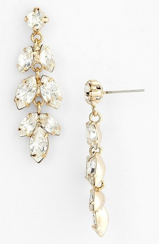 Nina 'Brylee' Crystal Drop Earrings