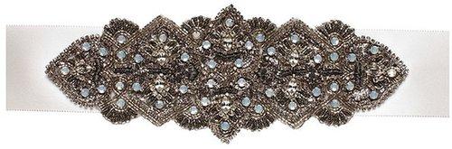 Antique Wide Bridal Sash
