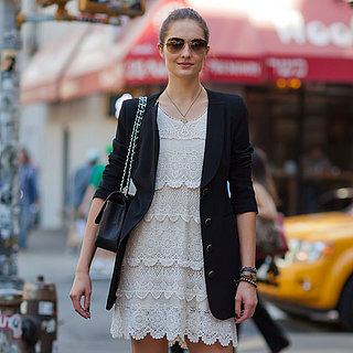 How to Wear a White Dress to Work