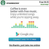 Sip at Starbucks and Stream Free Google Play Music All Access