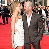 Jason Statham and Rosie Huntington-Whiteley in London