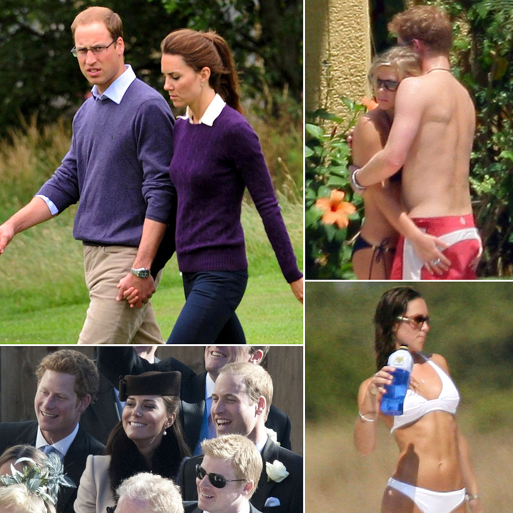 Kate Middleton, Semi Nude.