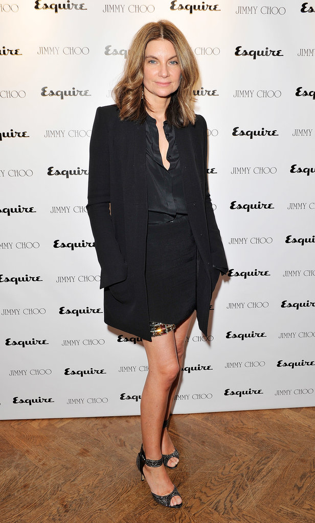 Natalie Massenet at the Jimmy Choo and Esquire celebration for the launch of London Collections: Men in London.