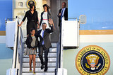The Obamas traveled to Berlin in June.