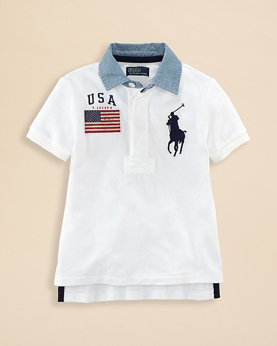 Ralph Lauren Big Pony Rugby Shirt